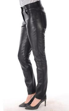 Pantalon Cuir Femme