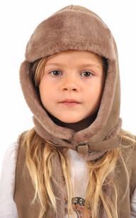 Chapka Enfant Peau Lainée1