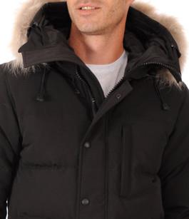 Parka Carson Black Homme Canada Goose