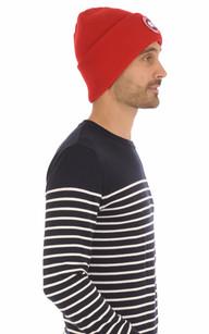 Bonnet Homme Rouge1
