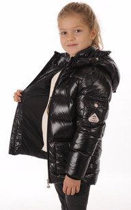 Doudoune Authentic Jacket Noire Fille