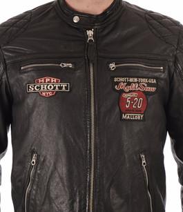 Blouson motard Lcspyder noir Schott