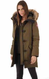 Parka Rossclair Military Green1