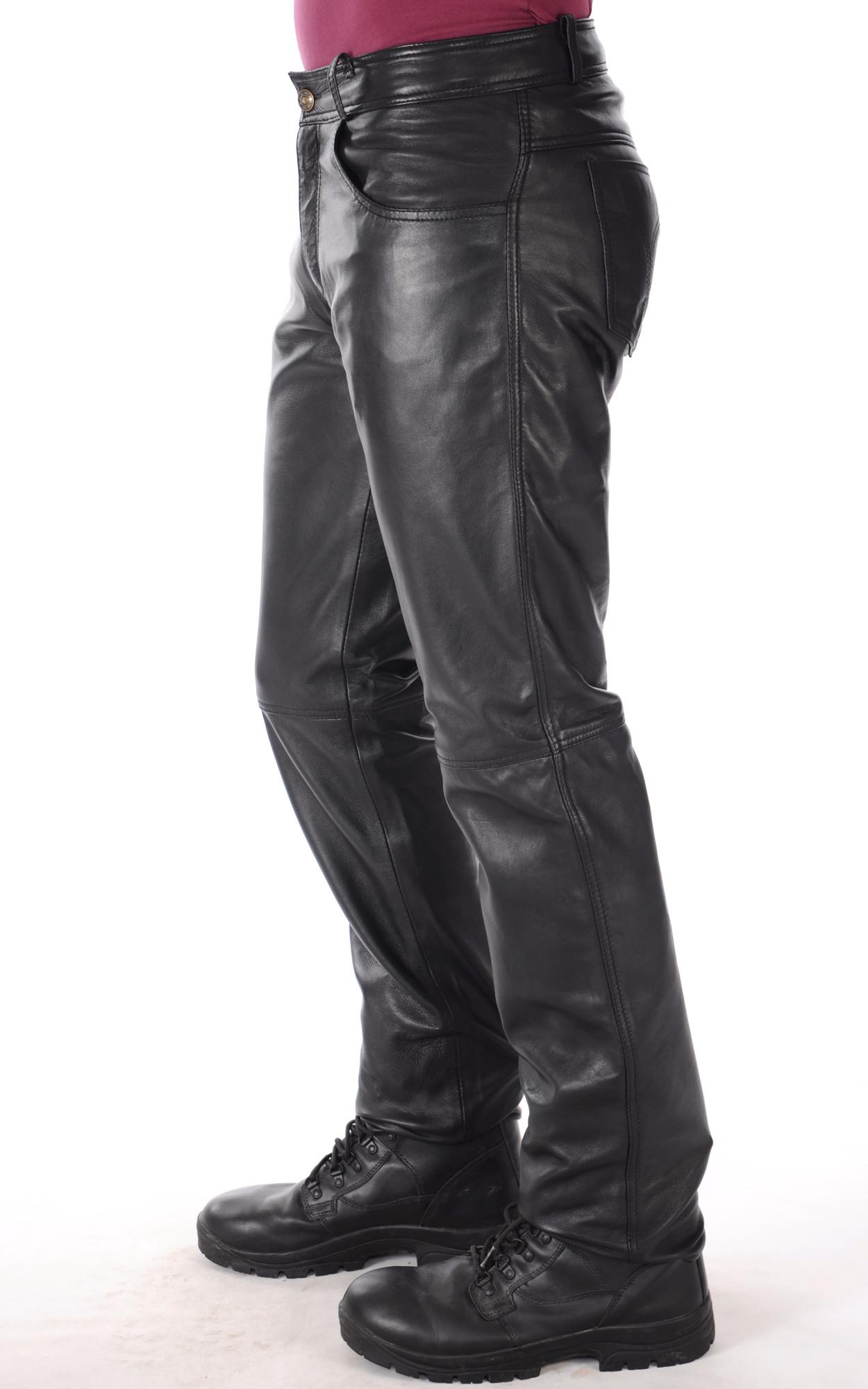 Pantalon Cuir Homme