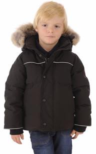 Parka Enfant Snowy Owl Black1