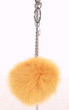 Porte-clé lapin jaune