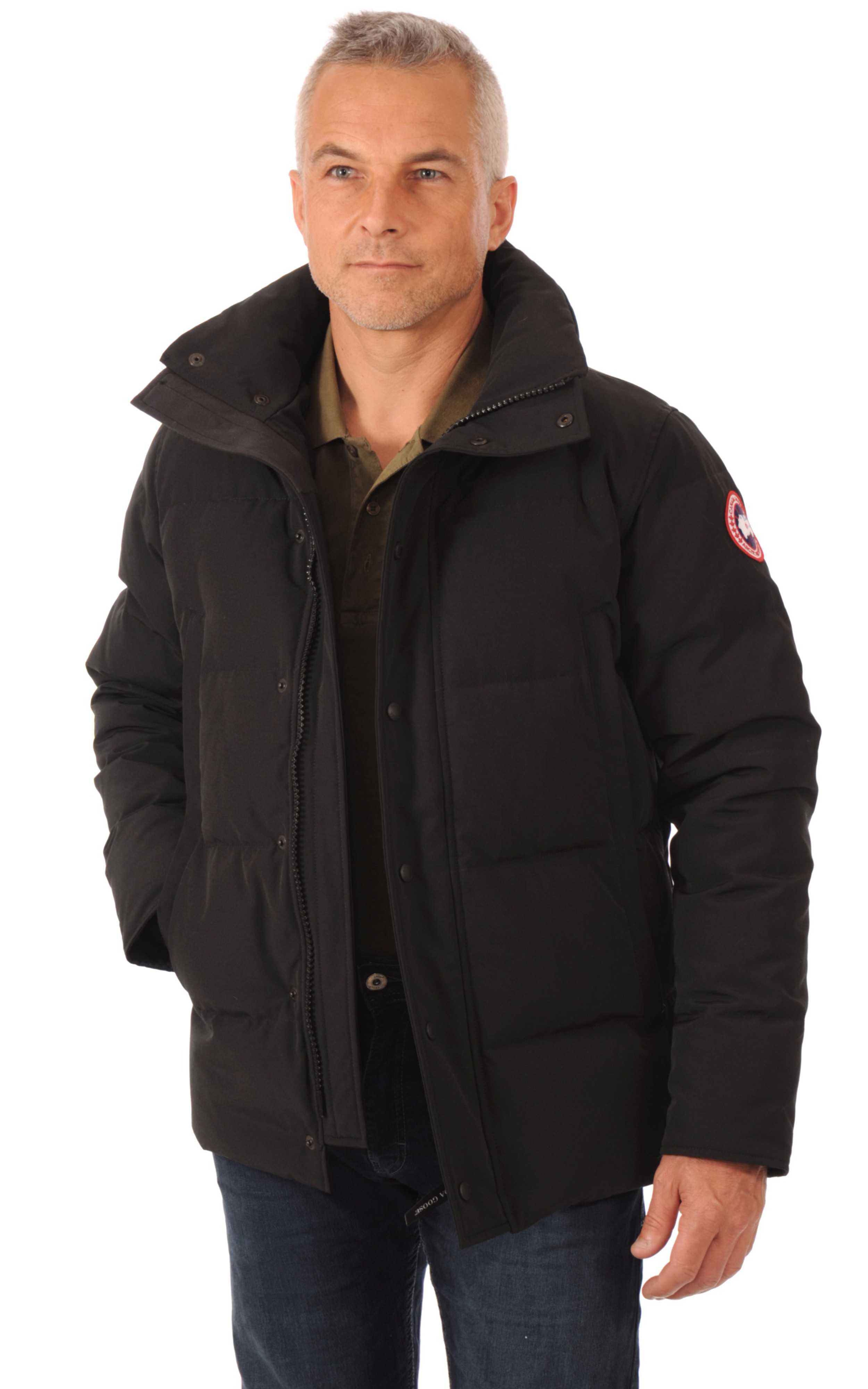 Parka Wyndham noire Canada Goose