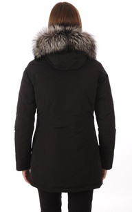 Parka Luxury Artic Fox Black