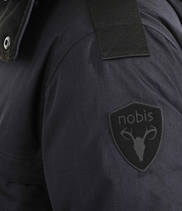 Parka Yatesy Bleue pour Homme Nobis