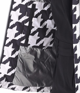 Doudoune Tyrrel noir et blanc Moose Knuckles