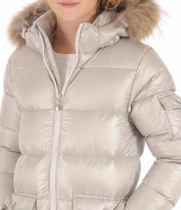 Doudoune Authentic Jacket Shiny Girl Metallic Pyrenex