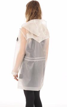 Imperméable Femme Fabre PVC transparent