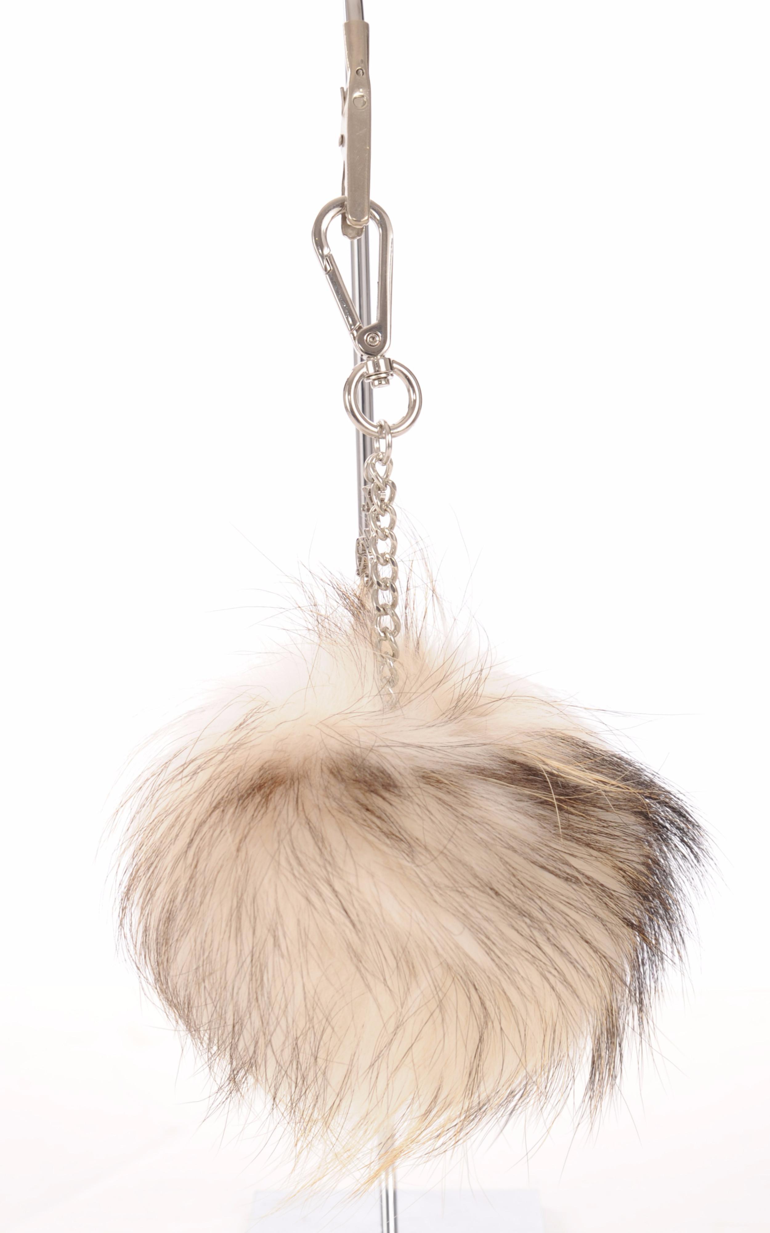Porte-clé lapin beige Oakwood