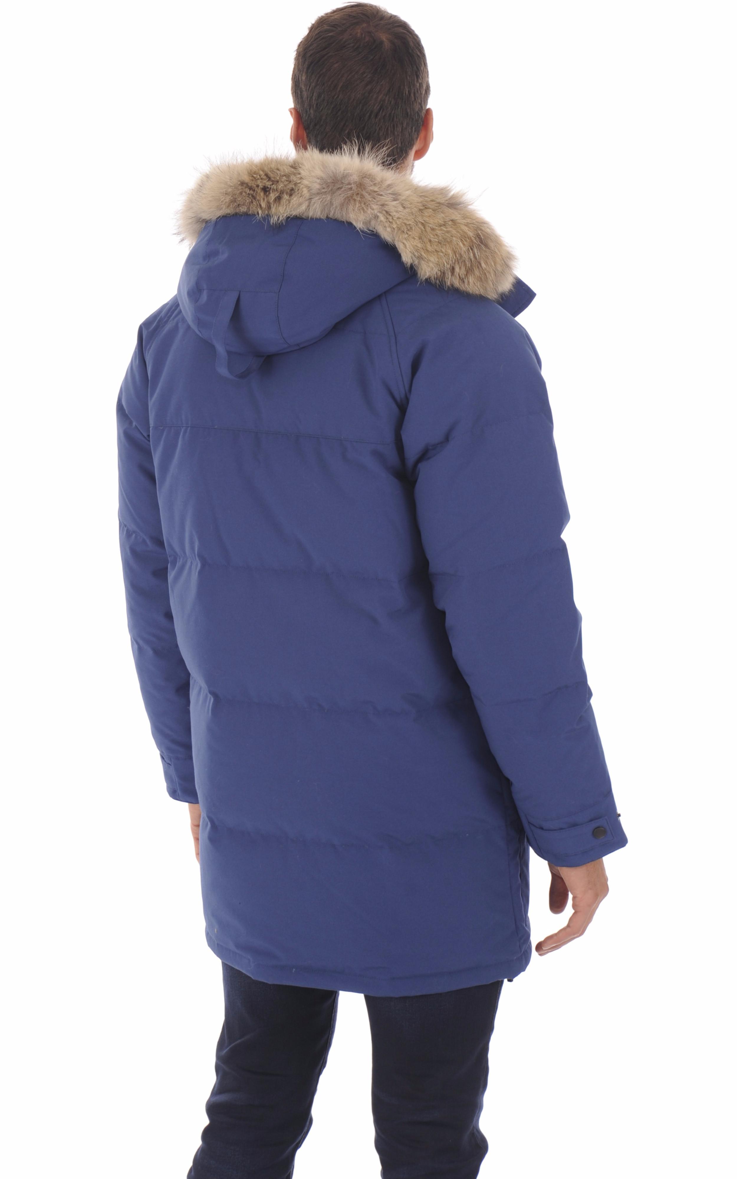 Parka Emory bleue Canada Goose