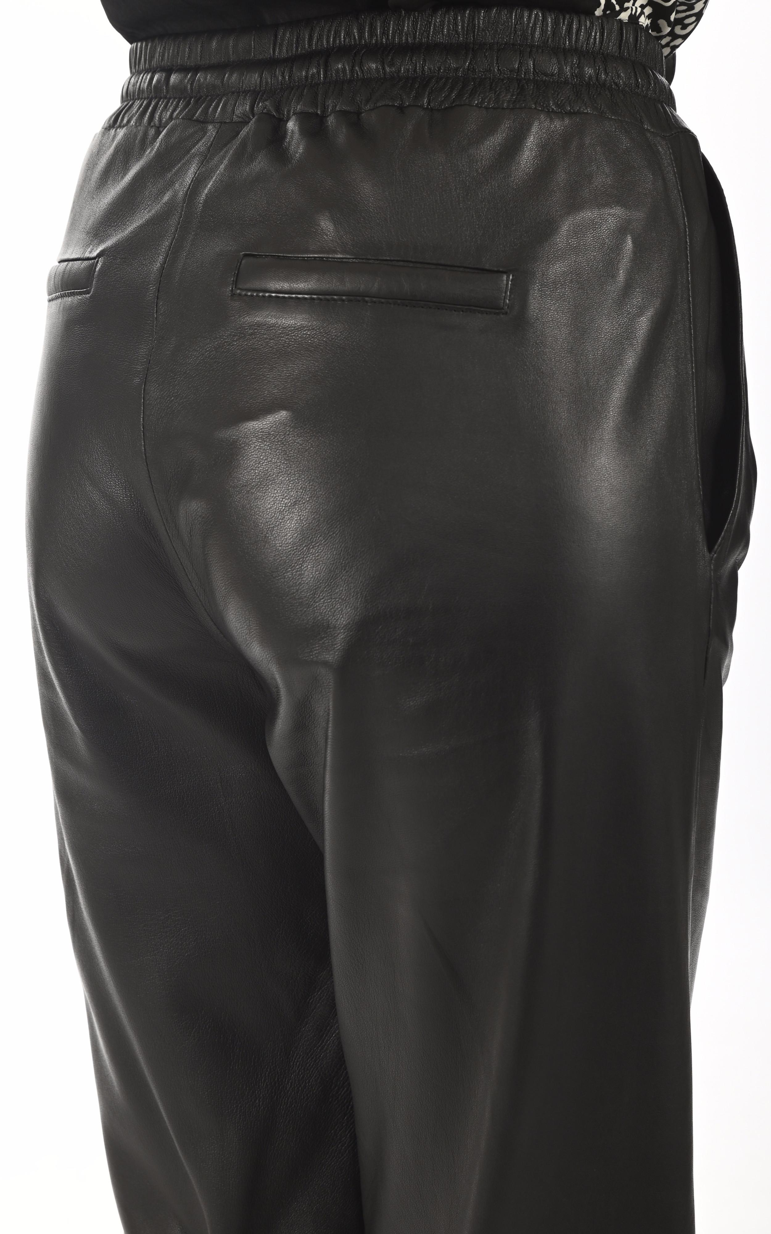 Pantalon large Lia noir Oakwood