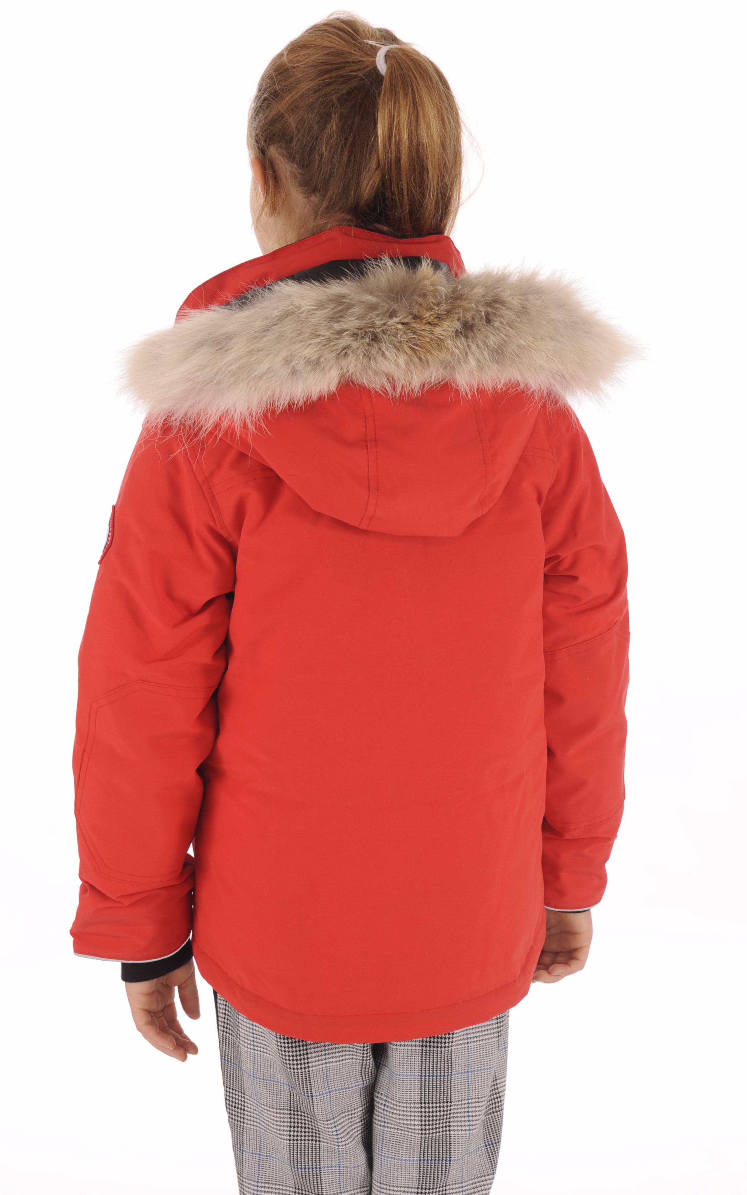Parka Logan Enfant Rouge Canada Goose