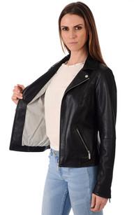 Blouson Coupe Confortable Noir