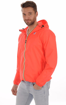 Le Vrai CLAUDE 3.0 Coupe-Vent Red Fluo