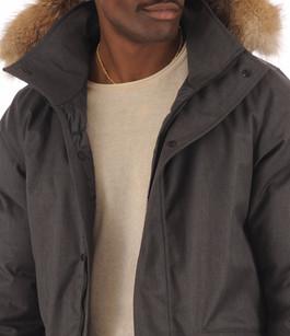 Parka Homme CHAMPLAIN Charbon Quartz Co