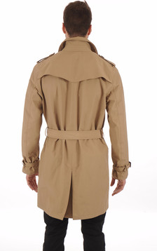 Trench Imperméable Beige
