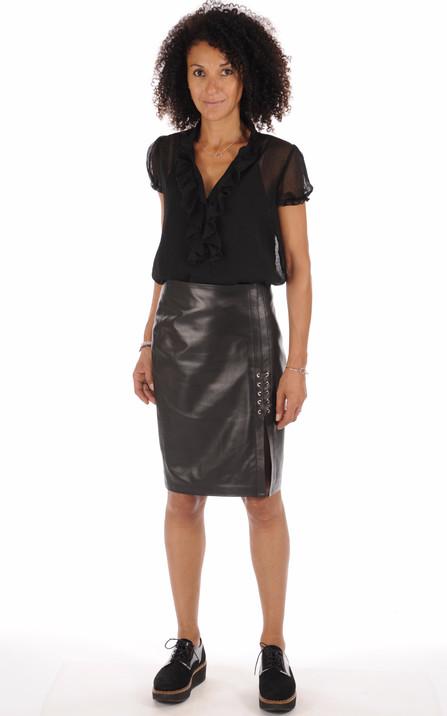 7fcf614d9198db Jupe en Cuir Femme , tous les styles vêtements, blousons et ...