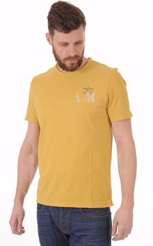 T-shirt Jaune Moutarde A.M1