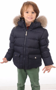 AUTHENTIC JACKET LITTLE FUR