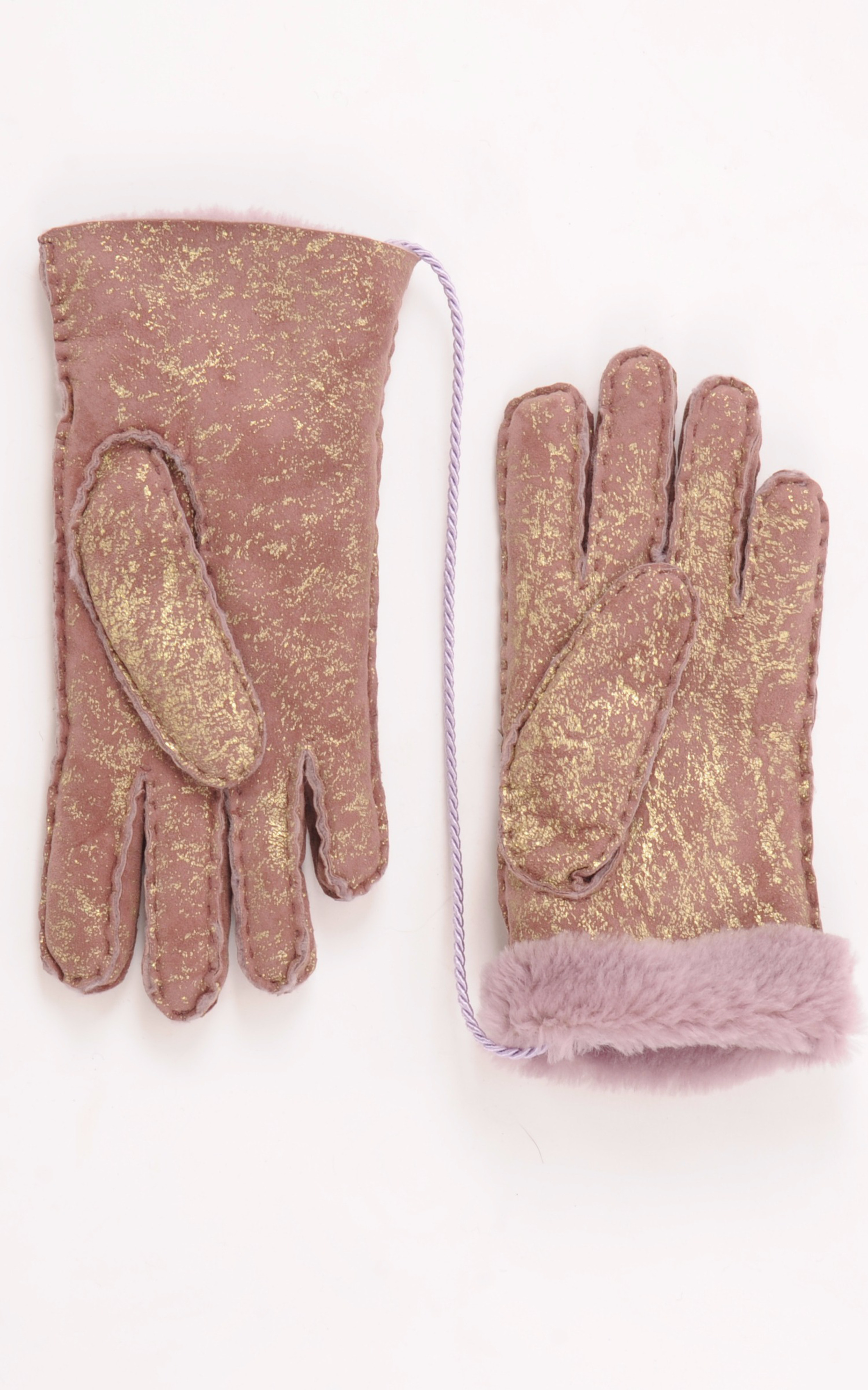 Gants Enfant Mérinos Rose d'Or La Canadienne