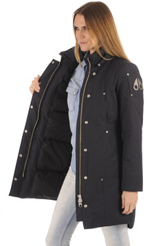 Doudoune longue Stirling Navy-Black