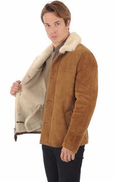 Veste LC Western Mouton Camel