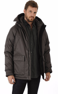 Parka Heritage Steel Grey1
