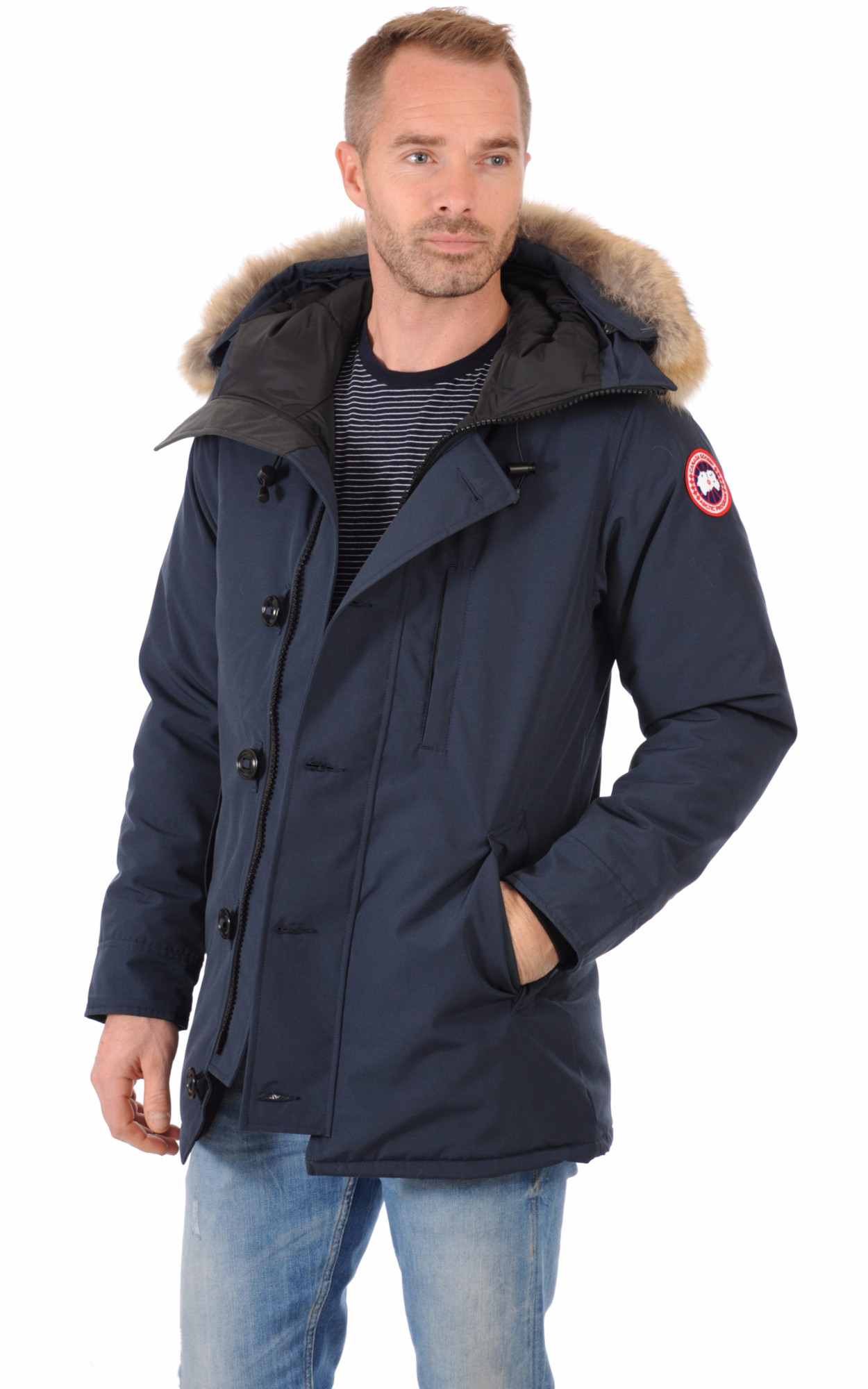 Parka The Chateau Ink Blue1