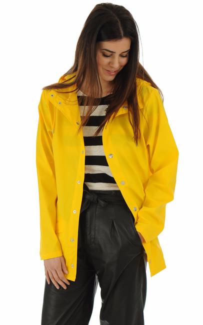 Rains - Imperméable 1201 jaune femme Rains
