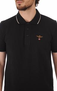 Polo Noir Logo Aero