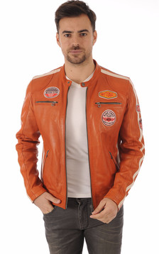 Blouson Oliver orange