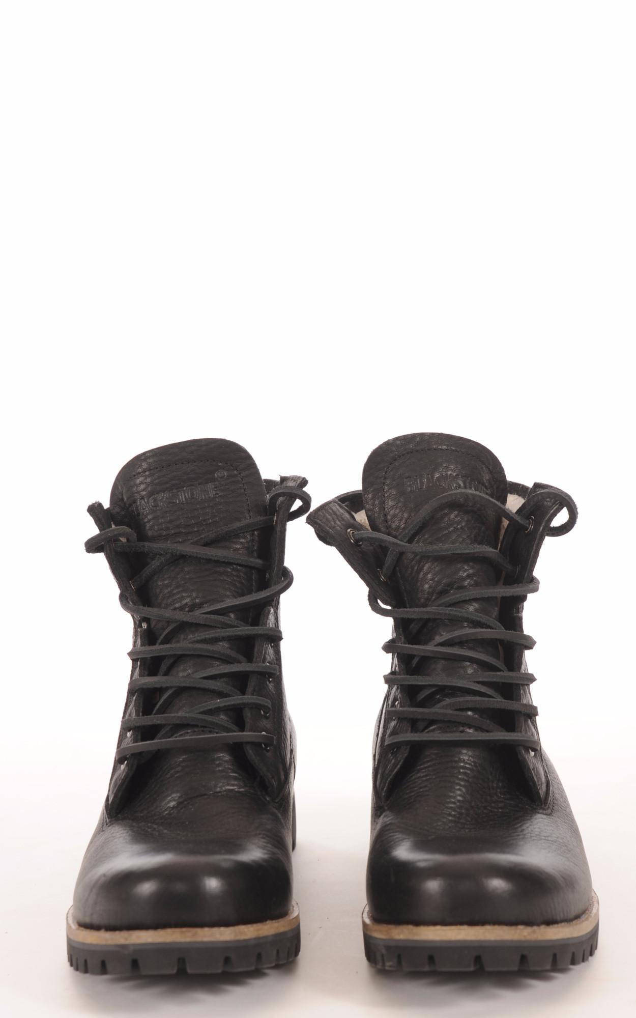 Boots Vachette et Mouton Noir Femme1