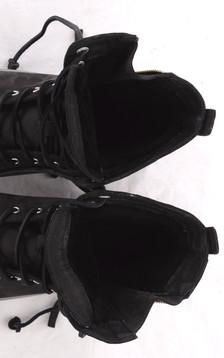 Baskets Noires Fourrées Mouton Femme