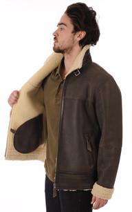 Bombardier Mouton Homme Coupe Confort