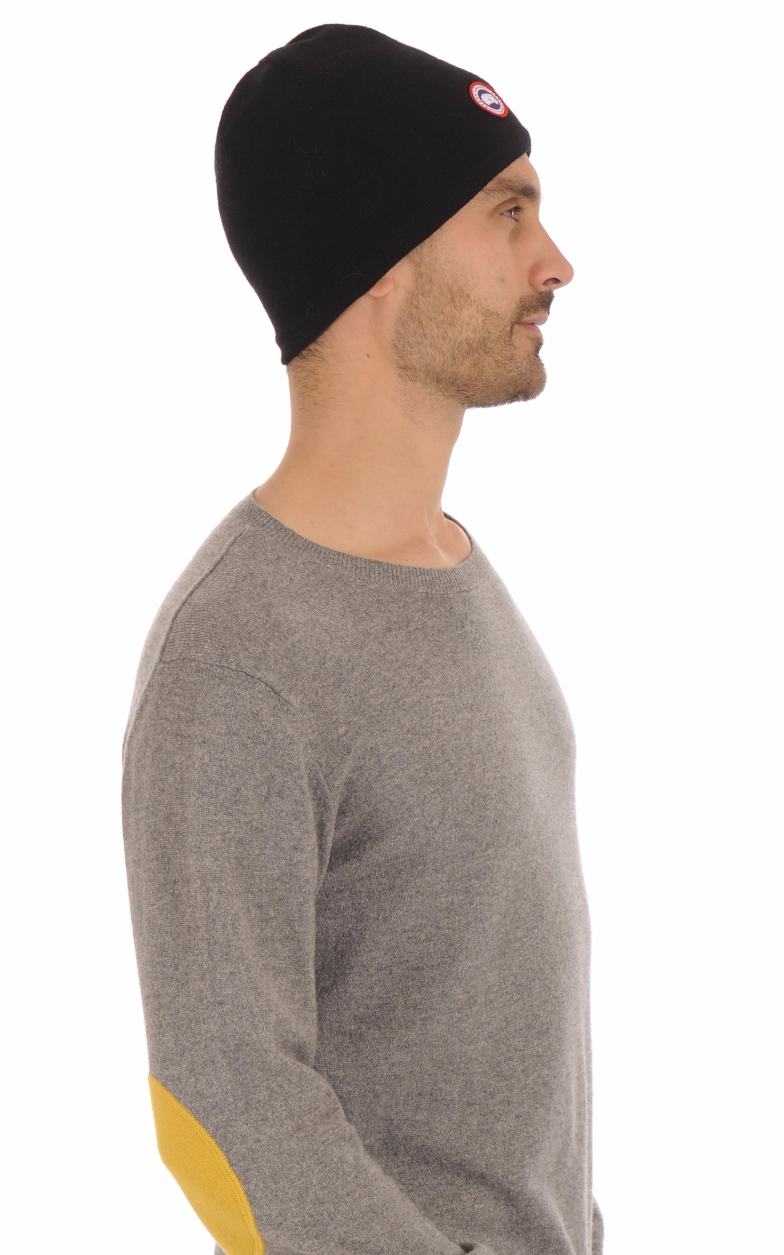 Bonnet Standard noir Homme Canada Goose