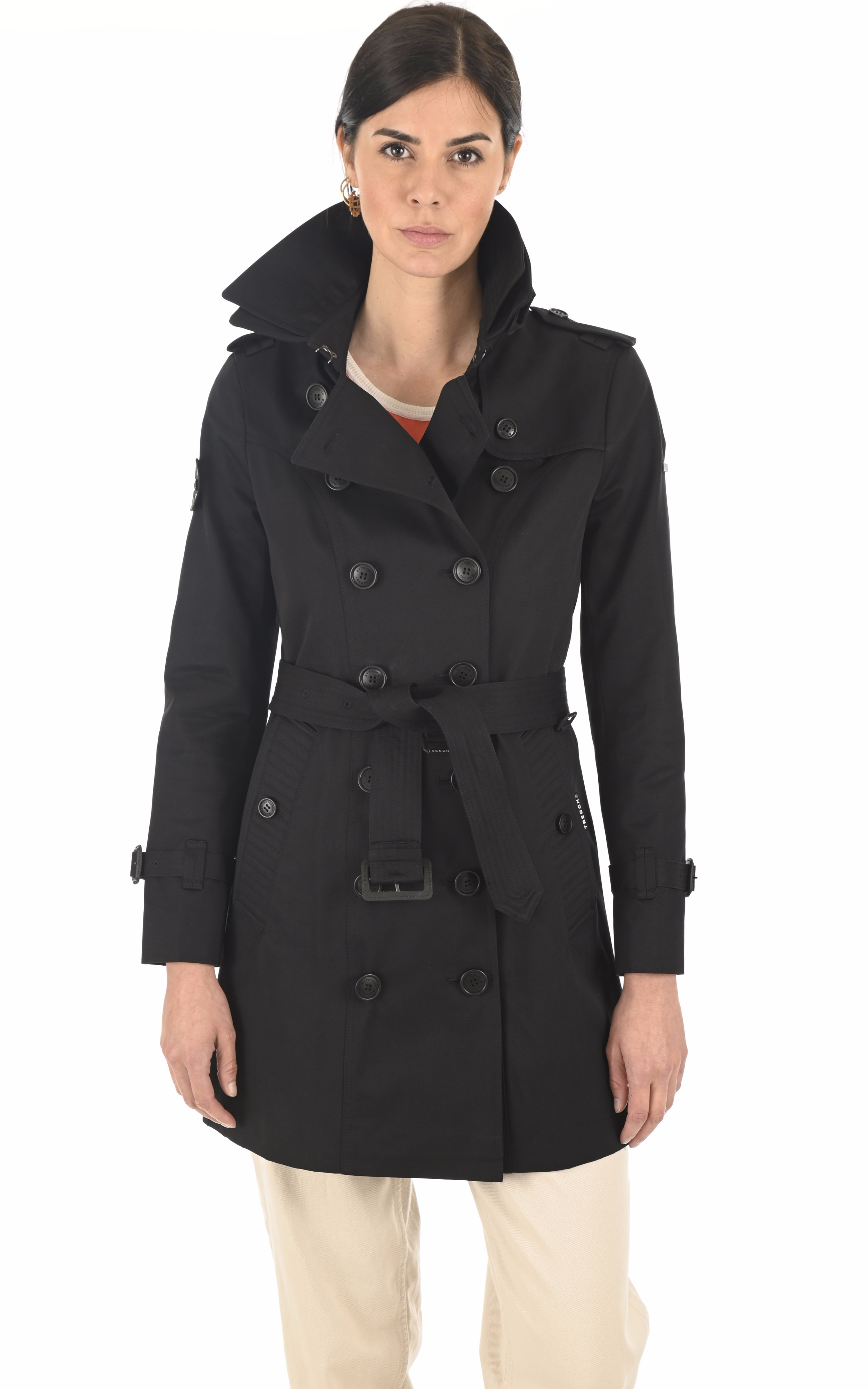 Trench The Slim noire Trench London