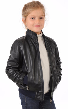 blouson cuir pour enfant blouson aviateur ou perfecto enfant la canadienne. Black Bedroom Furniture Sets. Home Design Ideas