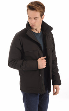 Parka Forester Black1