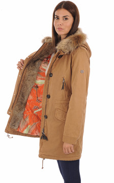 Parka Aspen 515 camel femme