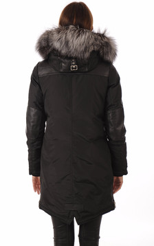 Parka MADISON Black-Silver Fox