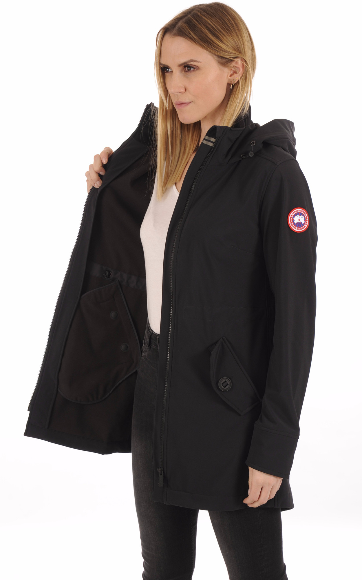 Manteau Avery Coupe-Vent Black