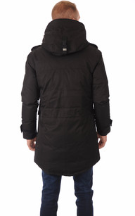 Parka Shelby Noire Homme