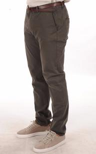 Pantalon Chino Kaki Homme