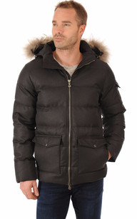 Doudoune Authentic Jacket Drill Grise Homme1