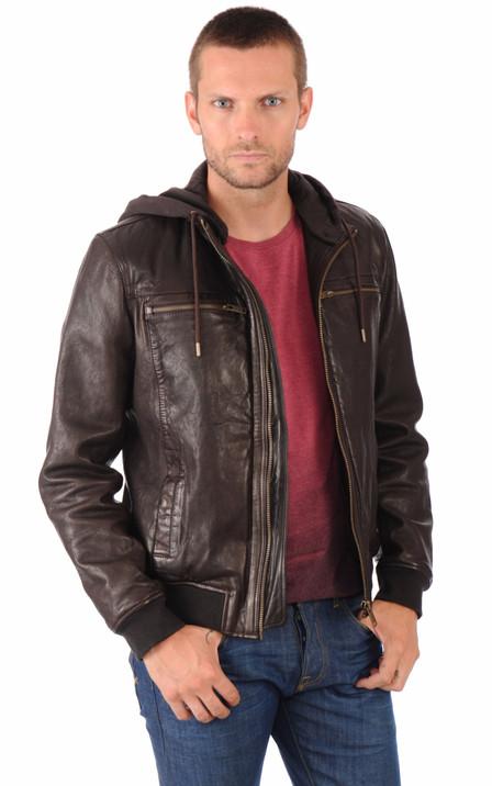 f9a431143058 Chevignon Homme   Blouson cuir, veste en cuir et ceintures Chevignon ...
