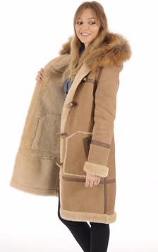 Duffle Coat LCW1250 Camel